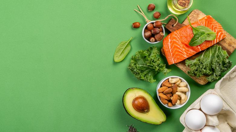 Foods in the keto diet