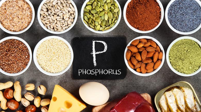 Food sources of phosphorus